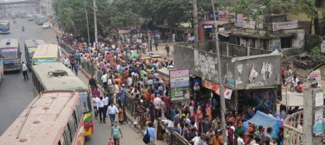 バングラディッシュ  バンコク 国境越え(2018年3月24日)