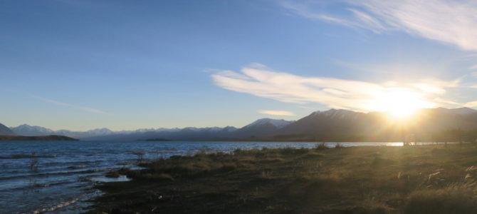 ニュージーランド テカポ湖99日目続き2(2018年5月9日)