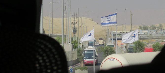 ヨルダン イスラエル 国境越え 431DAYS  (MAY/28/2019)