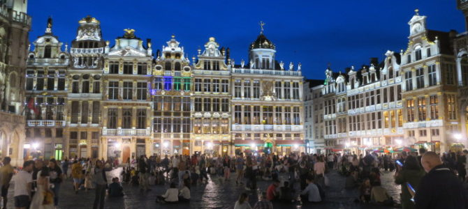 ベルギー ブリュッセル 462DAYS  (JUL/21/2019)